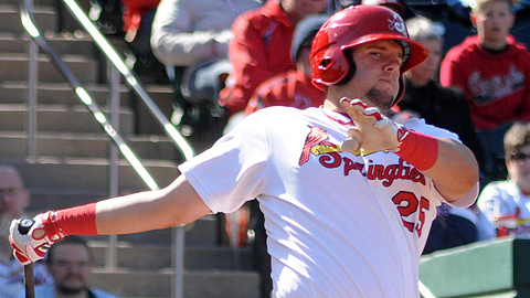 Matt Adams led the St. Louis system with 32 home runs.